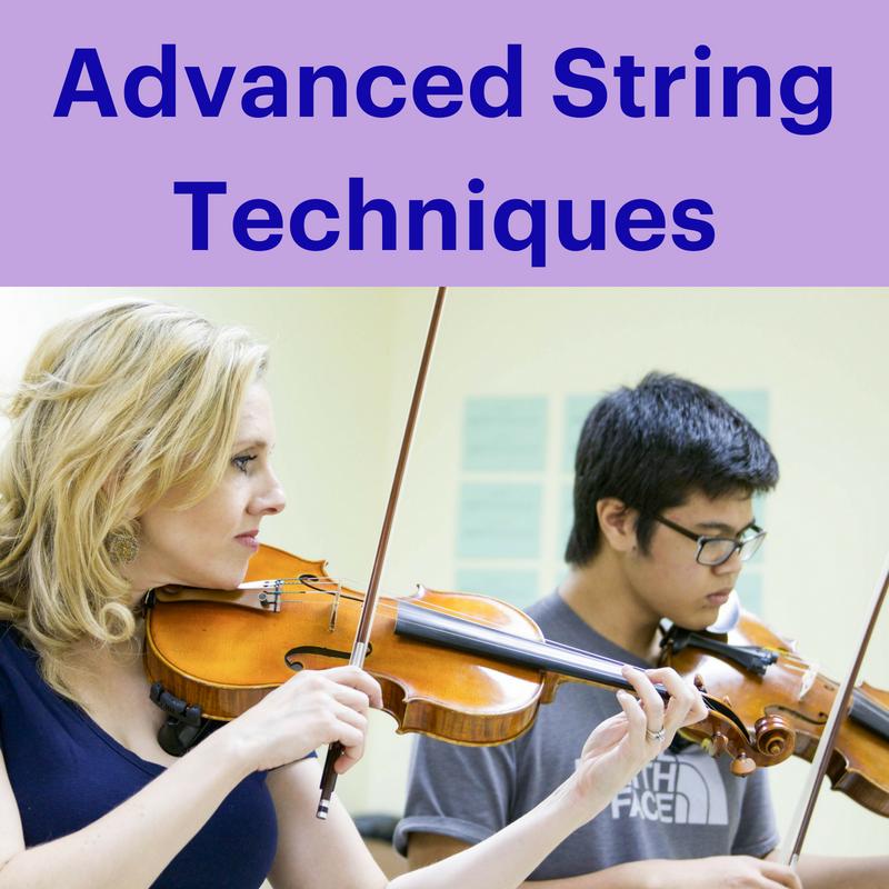 Group violin classes | Advanced String Techniques | Mattix Music Studio